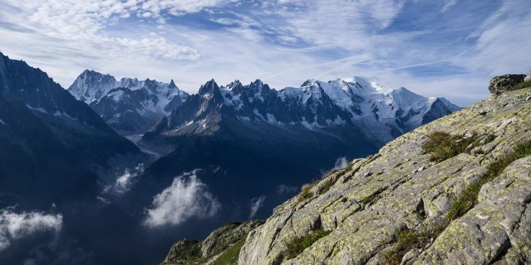 Le réveil du Mont-Blanc